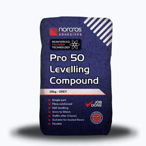 Norcros Pro 50 Leveling Compound 20kg-Norcros-ceramicplanet.co.uk