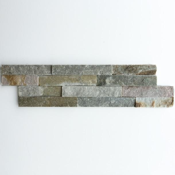 10x40cm Oyster Split Face Quartz tile-Ionic-ceramicplanet.co.uk