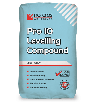 Norcros Pro 10 Self Levelling Compound-Norcros-Brooke ceramics ltd