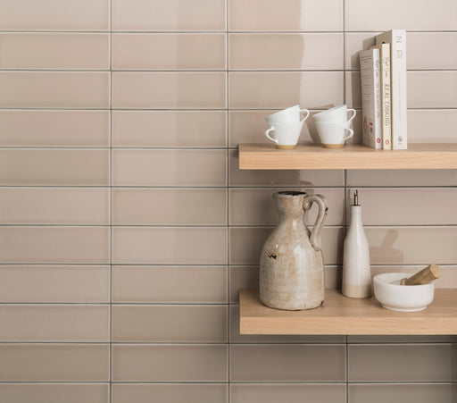 10x30cm Savoy Grain gloss wall tile-Johnson Tiles-Brooke ceramics ltd
