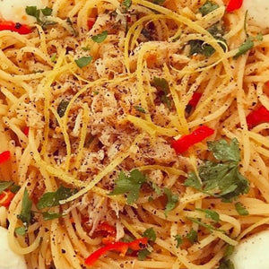 Crab & chilli Linguine