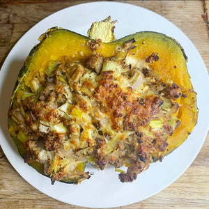 Stuffed Crown Prince Squash