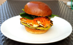 Nick Woods ULTIMATE Vegetarian Burger!
