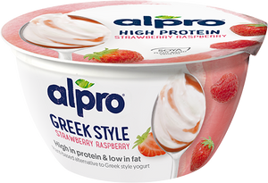 Alpro Greek Style Strawberry & Raspberry - 150g