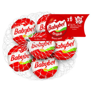 Mini Babybel Cheese - 6x20g