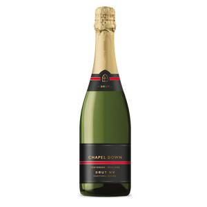 Chapel Down Sparkling Wine - Brut NV - 75cl-Watts Farms