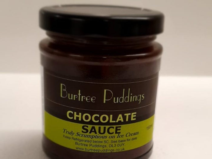 Burtree Award Winning Puddings - Rich Chocolate Sauce - 190ml