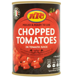 Chopped Tomatoes Tin - 400g-Watts Farms