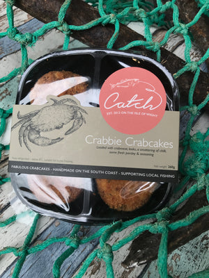 Crabbie Crab Cakes - Pack of 4 (260g)