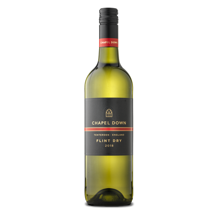 Chapel Down Still Wine - Flint Dry 2018 - 75cl