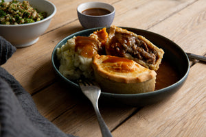 Hand Made Pies - Beef & Ale - Each (240g)
