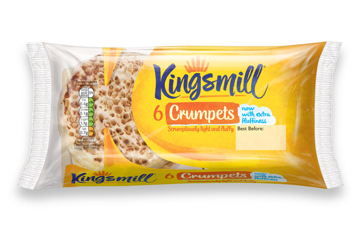 Kingsmill Crumpets - Pack of 6