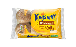 Kingsmill Soft Wholemeal Rolls - Pack of 6-Watts Farms