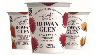 Rowan Glen - Low Fat Mixed Yoghurts - 12x125g
