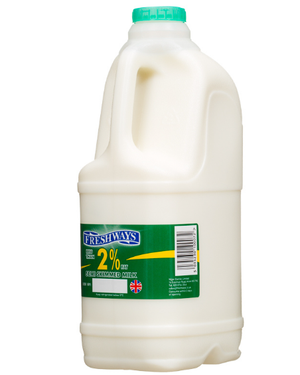 Milk Semi-Skimmed 2ltr-Watts Farms