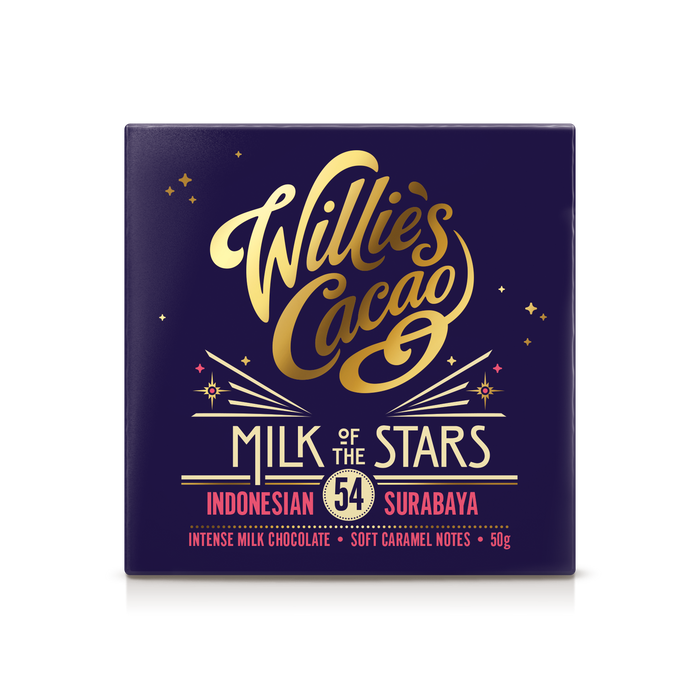 Willie's Cacao Chocolate - Milk of the Stars - 50g