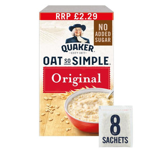 Quaker Oat So Simple Original Porridge - 8x27g