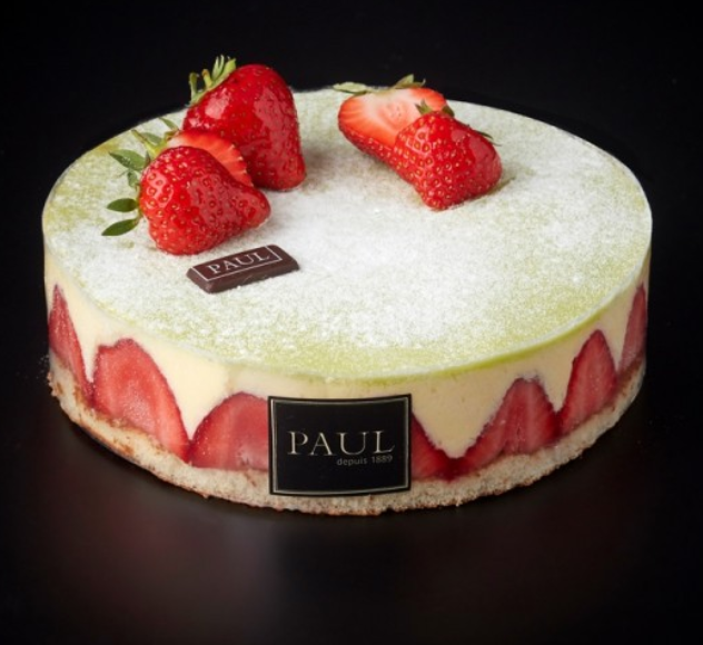 PAUL - Fraisier Cake - Each (6-8ppl)