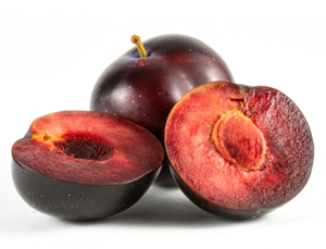 Plums Red - 500g punnet-Watts Farms