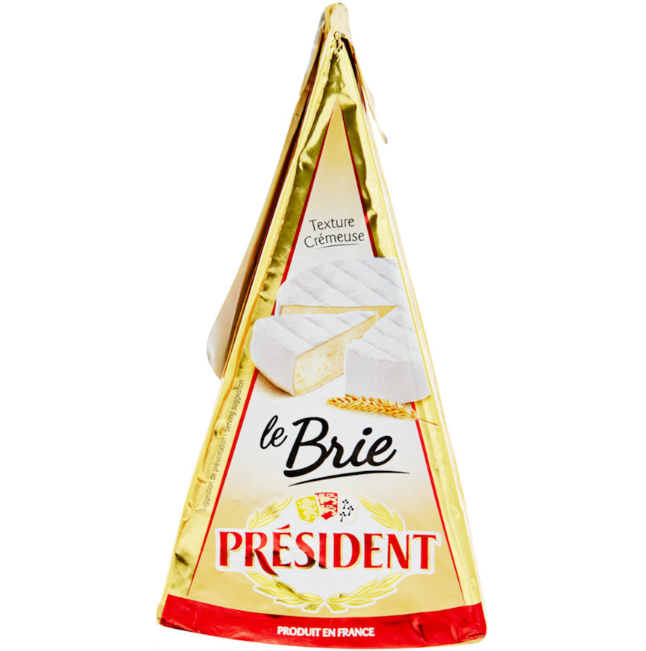 President Cheese - Brie Wedge (60%) - 200g