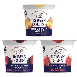 Rowan Glen - Rich & Creamy Mixed Yoghurts - 12x150g-Watts Farms