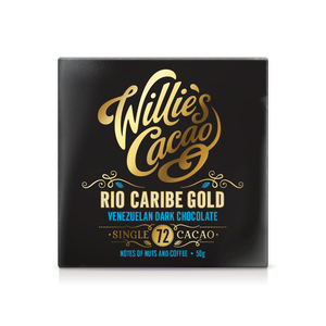 Willie's Cacao Chocolate - Venezuelan gold Rio Caribe 72 - 50g-Watts Farms