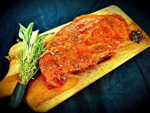 Hepburns - 28 Day Dry Aged Peppered Rump Steaks - 2x240g