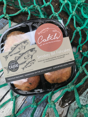 Smokey Bill's Fish Cakes - Pack of 4 (320g)