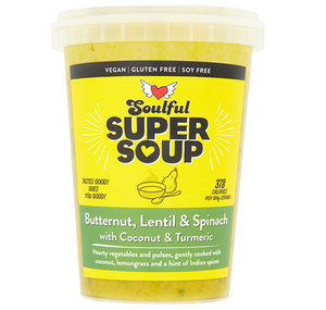 Soulful Foods Supersoup - Butternut, Lentil & Spinach - 600g-Watts Farms