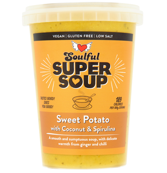 Soulful Foods Supersoup - Sweet Potato - 600g