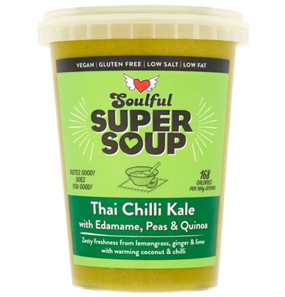 Soulful Foods Supersoup - Thai Chilli Kale - 600g