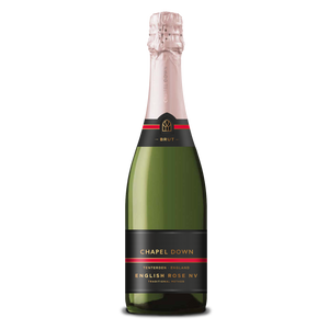 Chapel Down Sparkling Wine - English Rose NV - 75cl-Watts Farms