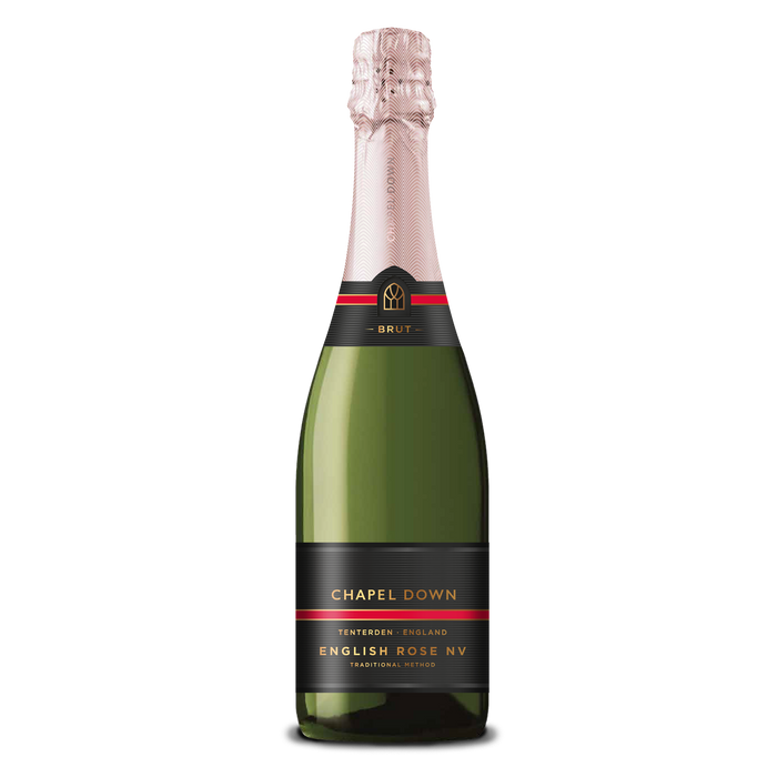 Chapel Down Sparkling Wine - English Rose NV - 75cl