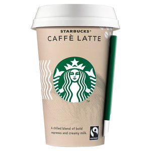 Starbucks Chilled Fairtrade Caffe Latte - 10x220ml