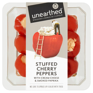 Unearthed Stuffed Cherry Peppers - 125g