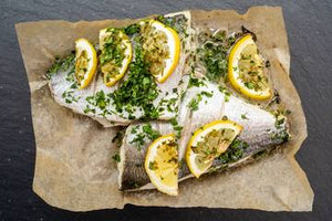 Fresh Fish Oven Ready Pack - Seabream Sweet Chilli & Lime- Pack (450g)