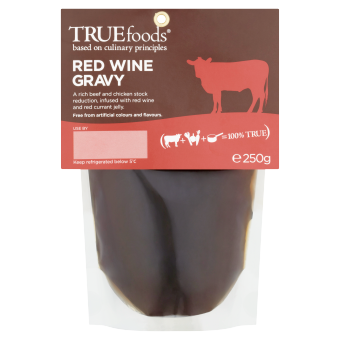 True Foods - Red Wine Gravy - 250g