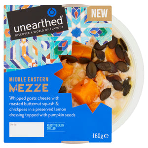 Unearthed Mezze Whipped Goats Cheese Butternut Squash - 160g