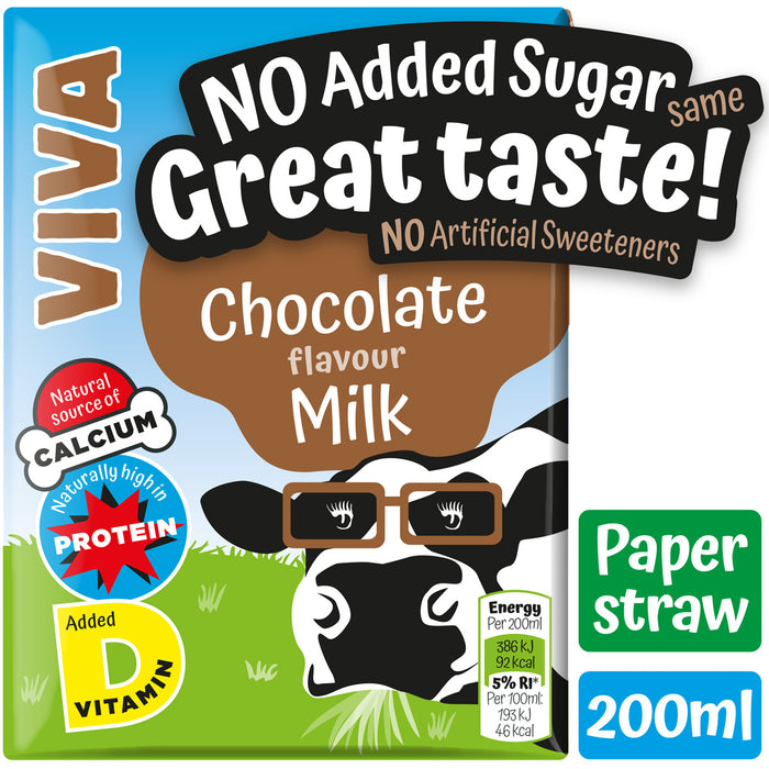 VIVA Chocolate Milk - 27*200ml