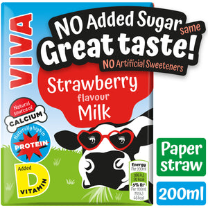VIVA Kids Strawberry Milk - 27*200ml
