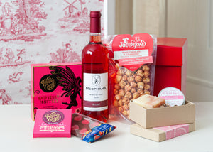 Pink Gift Box (inc Alcohol)