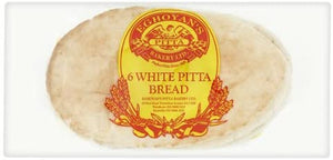 White Pitta Bread - Pack of 6