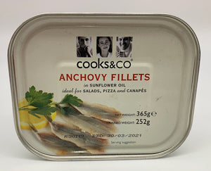 Anchovy Fillets - 365g-Watts Farms