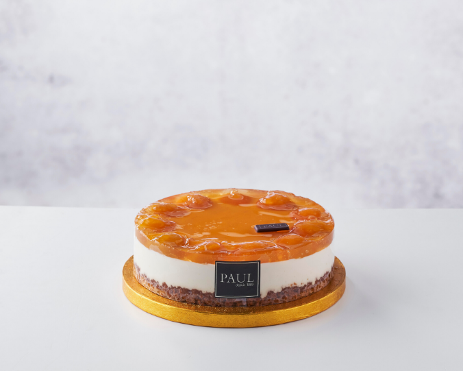 PAUL - Apricot Cheesecake (6-8ppl) (72 hours notice)