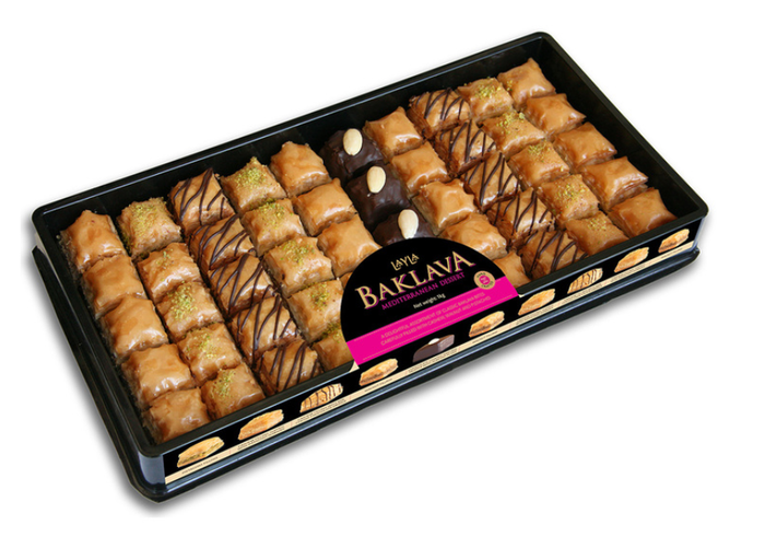 Layla Baklava Premium Large Selection Box - 1kg