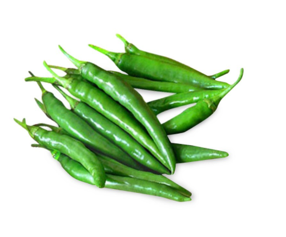 Birdseye Chillies Green - 50g