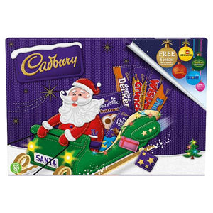 Cadbury Medium Santa Chocolate Carton - 150g