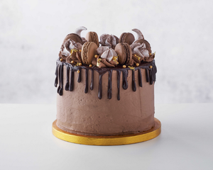 PAUL - Chocolate Macaron Gateau Cake (10-12 people)-Watts Farms