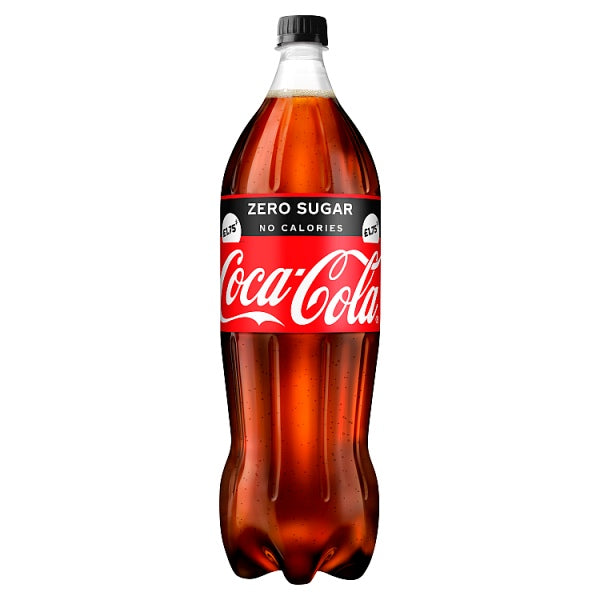 Coca-Cola Zero Sugar Large Bottle - 1.75Ltr