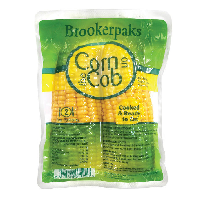 Cooked Sweetcorn Husk - Twin Pack
